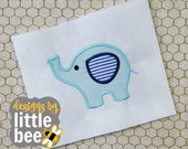 mom or dad/mommy or daddy elephant 1 with baby embroidery applique design beautiful Instant Download! bean stitch, monogram