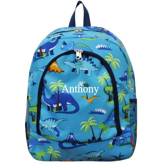Backpack Dinosaur Book Bag Boy Backpack