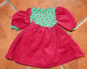 American girl doll Christmas dress