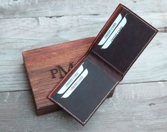 Groomsmen wallet, personalized leather, personalized wallet, groomsman gift box, gift Box, wedding gift, engraved leather wallet, custom box