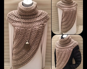 Katniss Inspired Cowl Wrap