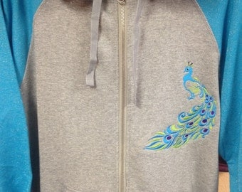 Hoodie with sparkles
