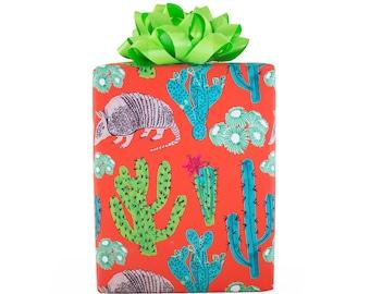 Desert Gift Wrap, 3-Sheet Roll
