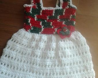 Christmas dress 6-12 months