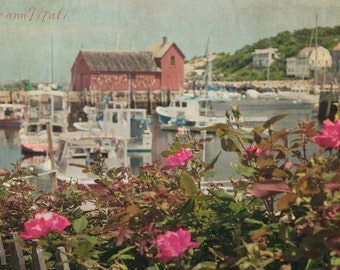 Massachusetts Prints, Motif Number 1 Rockport MA, Fishing Boats, Nautical decor, Beach Photography, nautical Art, ocean decor, motif #1