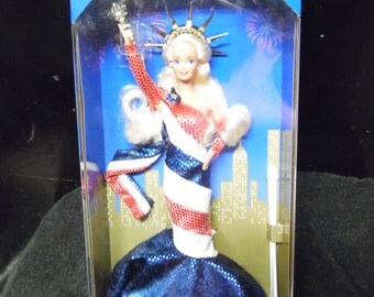 Barbie Doll Statue of Liberty FAO Schwarz Limited Edition 1995