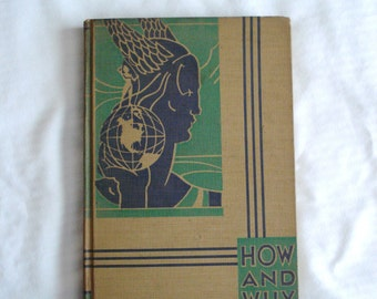Rare HOW AND WHY Library 1934 Vintage Book 1 My Travel - Eleanor Atkinson Childrens Encyclopedia Volume