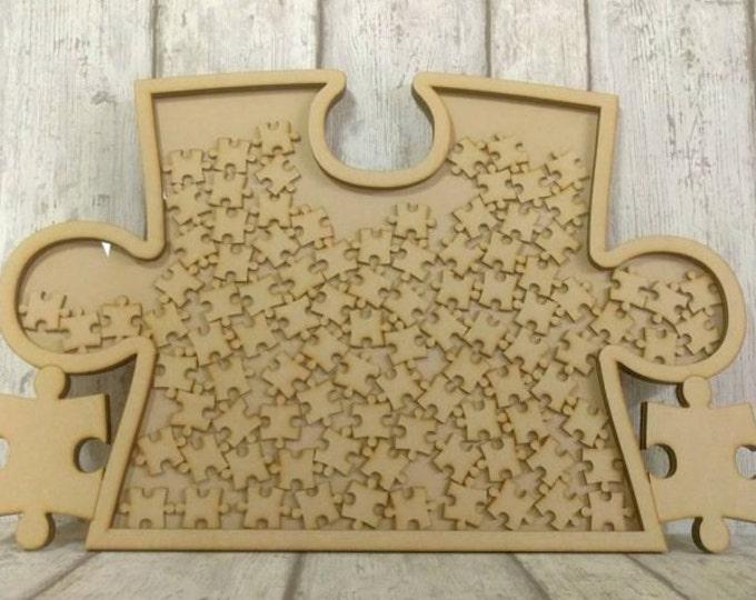 Jigsaw wedding Guestbook