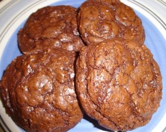 Absolute Decadence Homemade Ghirardelli Chocolate Cookies (3 Dozen)