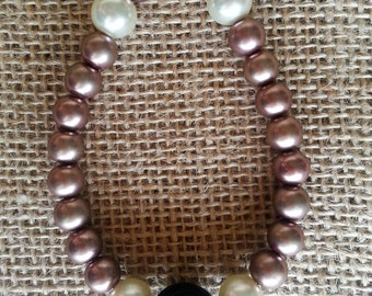 Pearls & Roses bracelet