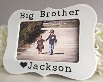 Big Brother Picture Frame Little Brother Picture Frame Sibling Picture Frame Personalized Picture Frame 4x6 Opening