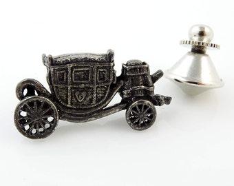Vintage Carriage Tie Pin Tack
