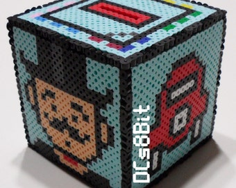 Monopoly Perler Coinbox