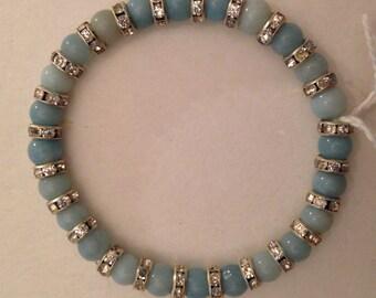 Semiprecious Gemstone & Ronelle Bracelet