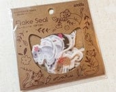 Cat Stickers - 50 Washi Flakes
