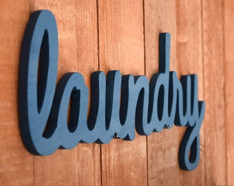 Laundry Sign, Laundry Room Decor