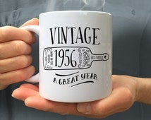 60th Birthday, 60th Birthday Gift, 60th Birthday Idea, Vintage, 1956, Happy Birthday, 60th Birthday Present for 60 year old!