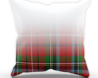 Tartan Fade CUSHION Home Modern Decor Soft Furnishings Home