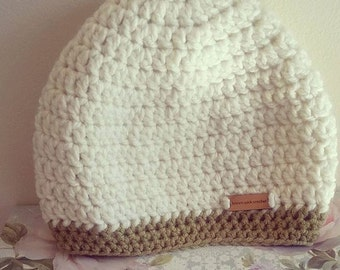 Ready to Ship: Crochet Beanie Hat