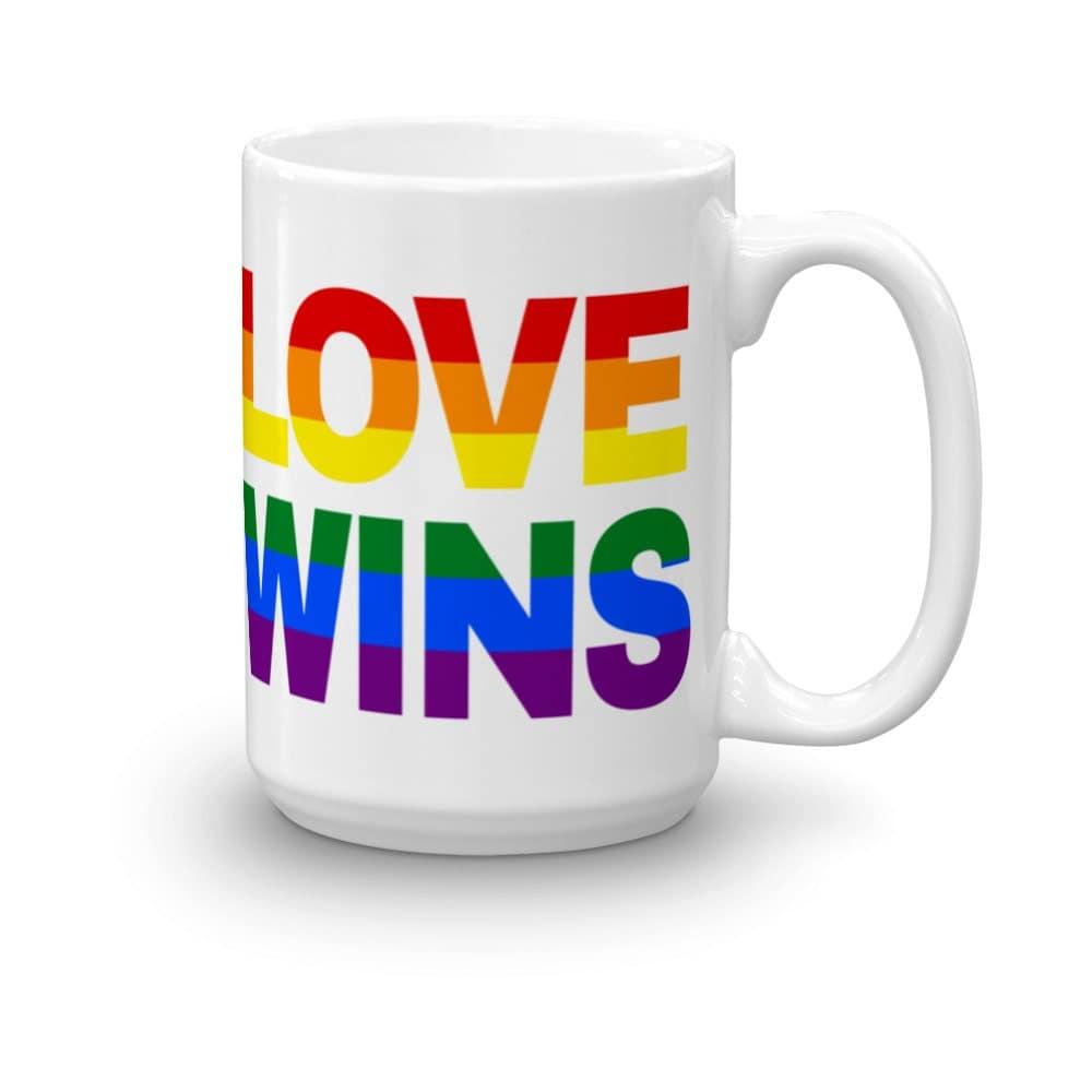 Gay Pride Love Wins Mug