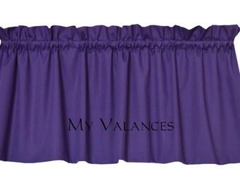 Purple valance | Etsy