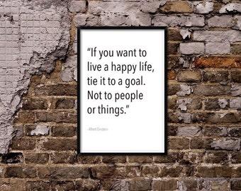 Live a happy life.
