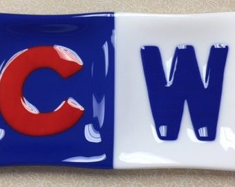Go Cubs Go Divided Plate