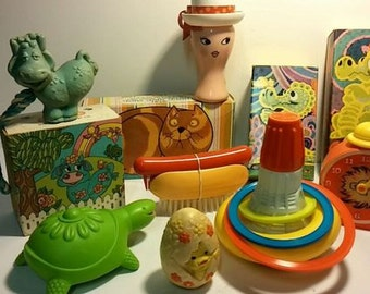 1970's Avon Kids Collection. You get all items pictured