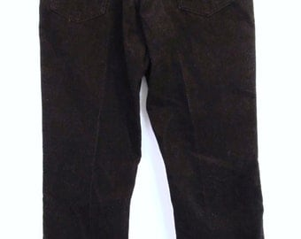 Marked Down 25%@@Vintage 80's,CRANBERRY Colored,Straight Leg COUNTRY Boy CORDS By Dakota.34x32