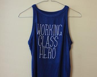Working Class Hero Crop Top