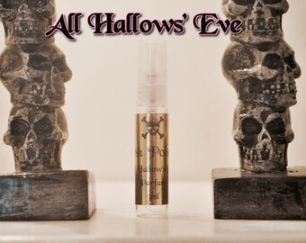 All Hallows' Eve Pumpkin Scented Gothic Perfume 5 mL spray sample