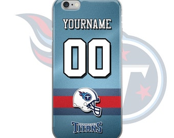 PG-PHONECASE | iPhone 6 case | Personalized | Tennessee Titans