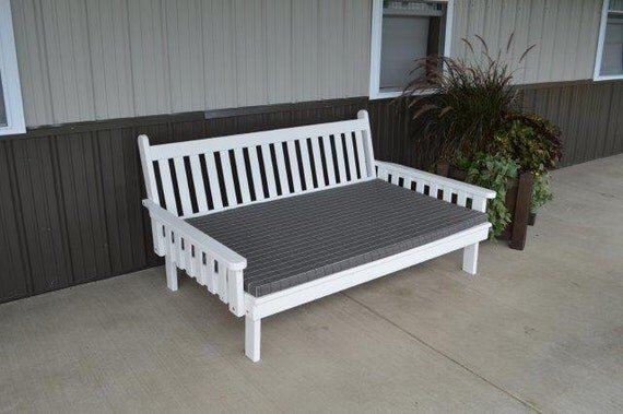 Daybeds Made In The Usa : Pine twin size traditonal english daybed unfinished
