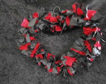 Red and Black Valentine Heart