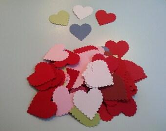 Heart Punches Confetti