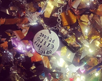 Spread JOY like butter! Joy Butter Revolution Necklace Christmas Gift