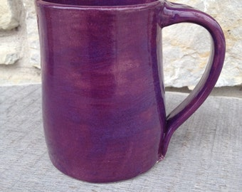 Hand Thrown Purple Mug