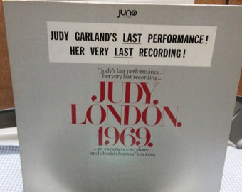 Judy Garland 33 1/3 album in London, 1969