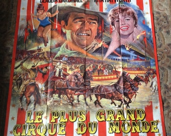 Vintage movie poster. Including John Wayne
