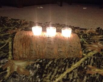 log candle centerpecie