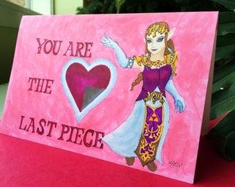 Legend of Zelda Card  You Are The Last Piece