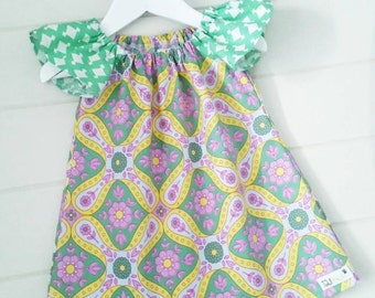 Girls Paisley Dress