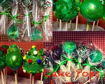 Christmas Cake Pop Special