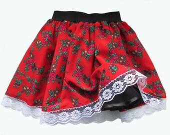Spódnica krakowska / góralska      skirt for girl skirts