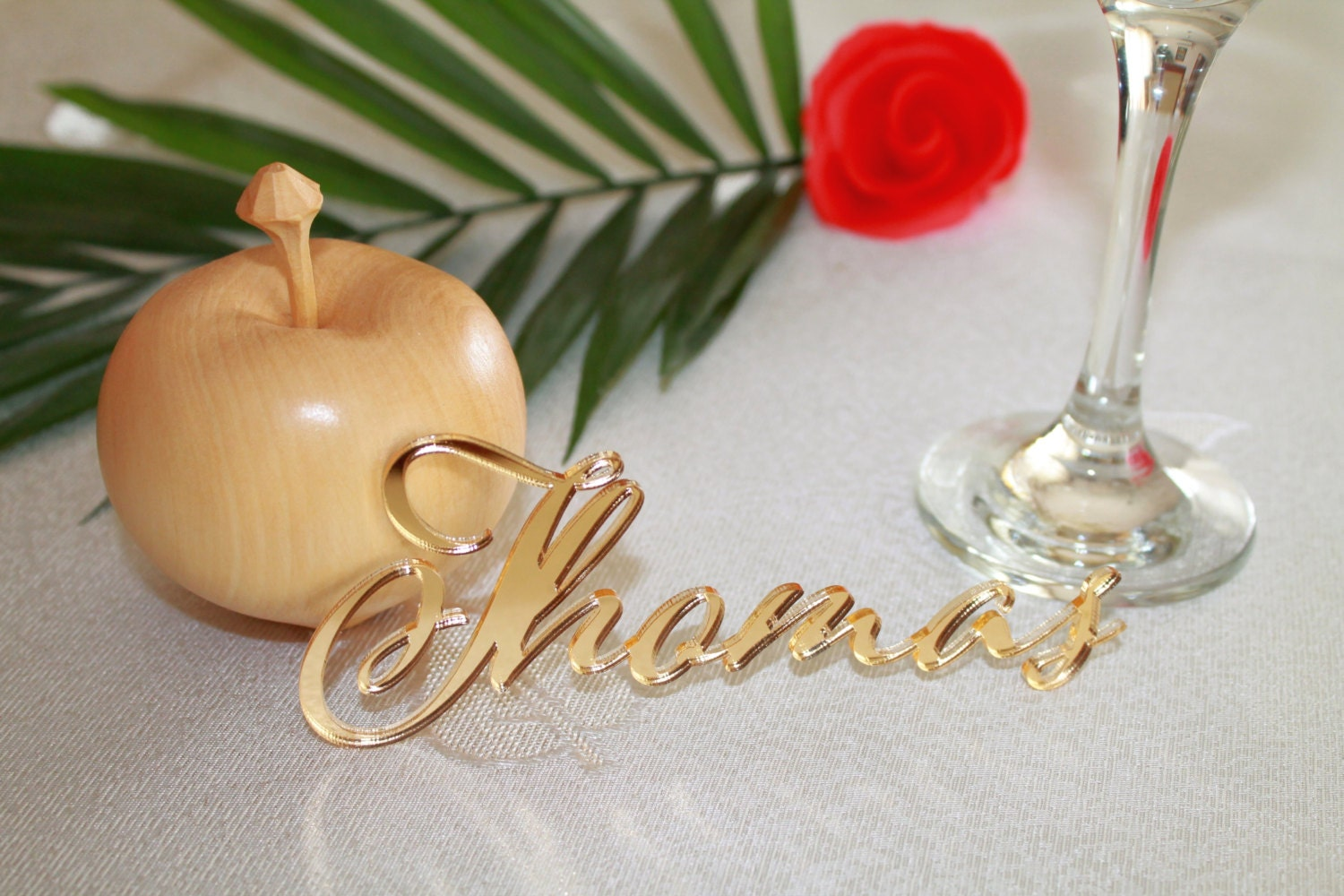 Laser Cut Names Personalised Name Place Setting Guest