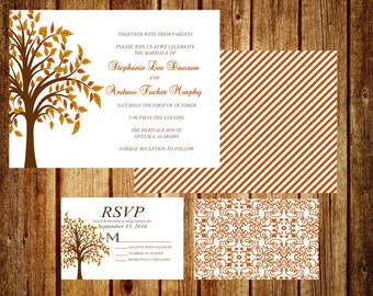 Falling Into Fall With Wedding Bliss