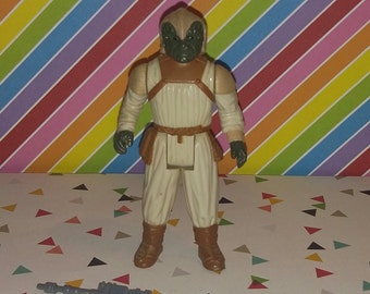 Vintage 1983 Star Wars Return of the Jedi Klaatu (Skiff Guard) Figure Complete