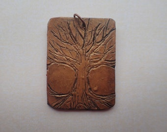 Gold Tree of Life Polymer Clay