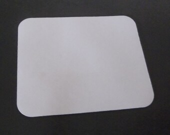Blank Mouse Pad Craft Supplys decorate your own Heat Transfer or Fabric cover office den dorm room college