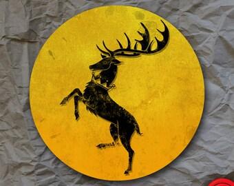 House Baratheon Game of Thrones Sticker